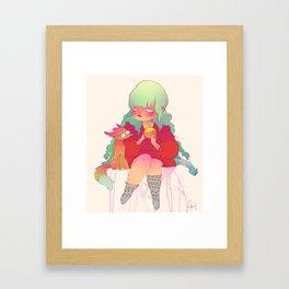 Holiday treat Framed Art Print