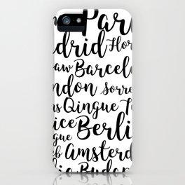 Europe iPhone Case