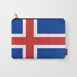 Flag: Iceland Carry-All Pouch