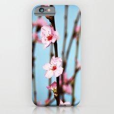 Pretty Pink Peach Petals Slim Case iPhone 6s