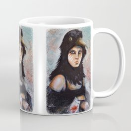 Raven girl Coffee Mug