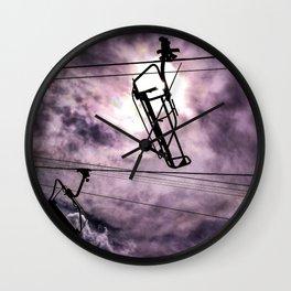 Sky Lift Wall Clock