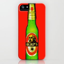 Burp's Beer iPhone Case