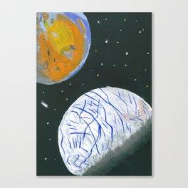 Europa and Io Canvas Print