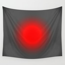 Red & Gray Focus Wall Tapestry