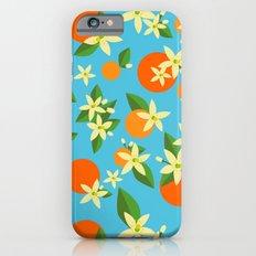 Orange Blossom Daydreams Slim Case iPhone 6s