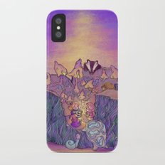 In the mushroom cove Slim Case iPhone X