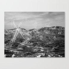 album of noises (#2) Canvas Print