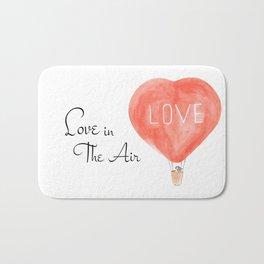 LOVE in the air Bath Mat