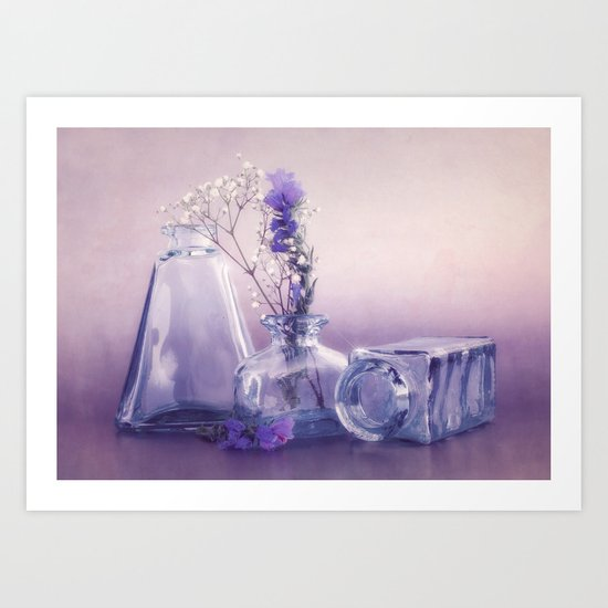 PURPLE STILL LIFE Art Print
