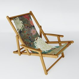 flower【Japanese painting】 Sling Chair