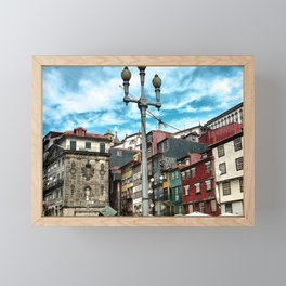 Porto Buildings Framed Mini Art Print
