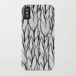 Abstract Leaves iPhone Case