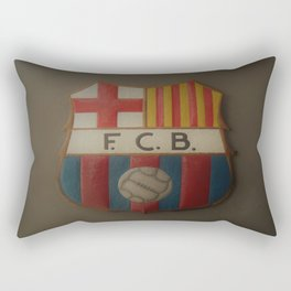 FCB Logo Rectangular Pillow