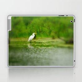 Marsh Egret Laptop & iPad Skin