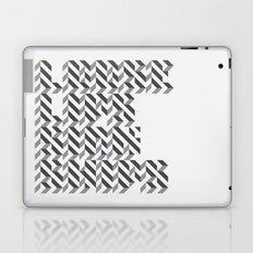 loose lips sink ships dazzle typography Laptop & iPad Skin