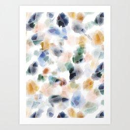 Float Vibrant Art Print