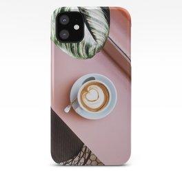 pink latte iPhone Case