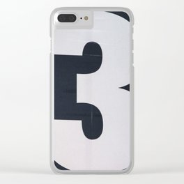 3! Clear iPhone Case