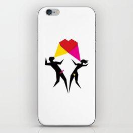 Happy Love iPhone Skin