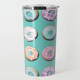 Donuts for tea Travel Mug