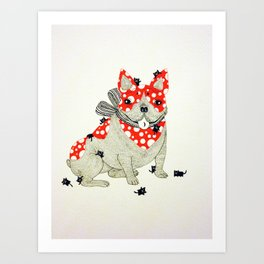 Frenchie. Art Print