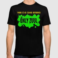 ONLY ZUUL  |  Ghostbusters Mens Fitted Tee Black LARGE