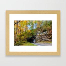 Smoky Mountain Tunnel Framed Art Print