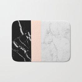 Minimalist Marble Bath Mat