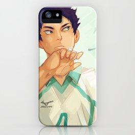 Iwaizumi iPhone Case
