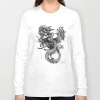 tomb raider Long Sleeve T-shirts featuring Raider by Rosanna P. Brost
