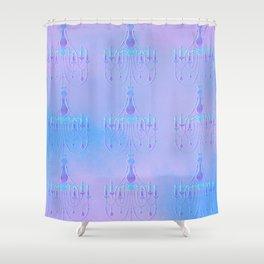 Embossed Chandelier Shower Curtain