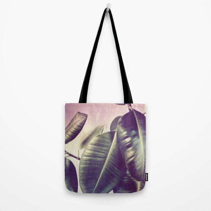 Ficus Elastica #2 Tote Bag