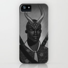 Swordsman iPhone Case