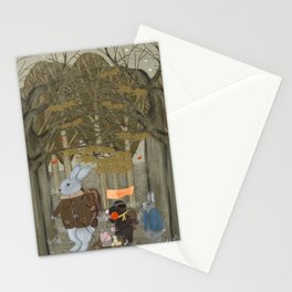 a little woodland adventure Stationery Cards