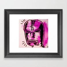 fetish mask Framed Art Print