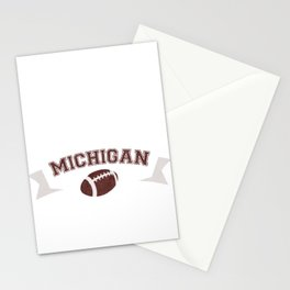 Just a Baller from Michigan Football Player Stationery Cards