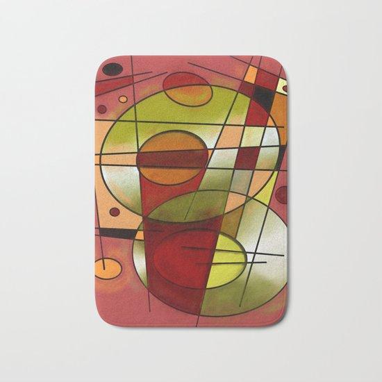 Abstract #752 Bath Mat