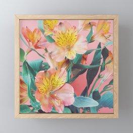 Spring Bouquet Framed Mini Art Print