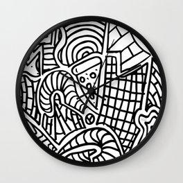 Zonabstrata Wall Clock