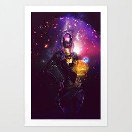 Tali'Zorah vas Normandy (Mass Effect) Art Art Print