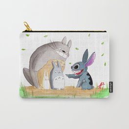 Ohana Means Family Carry-All Pouch