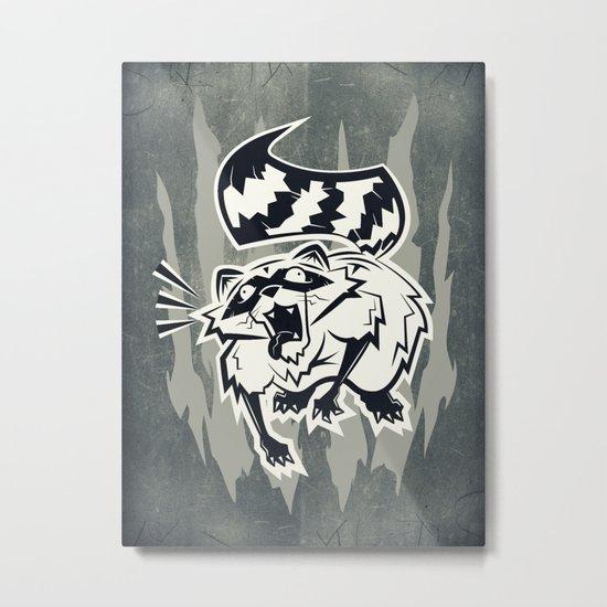 Rabid  Metal Print