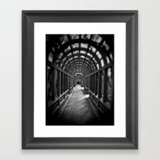 Beyond the Gate... Framed Art Print