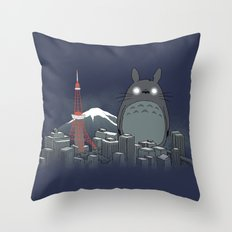 My Angry Neighbor Throw Pillow