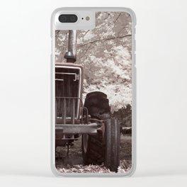 Olde Faithful Clear iPhone Case