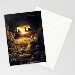 The lost after the war Stationery Cards