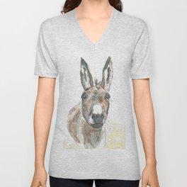 Donkey Unisex V-Neck