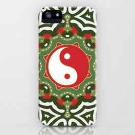 Holiday Festive Balance Yin Yang iPhone Case