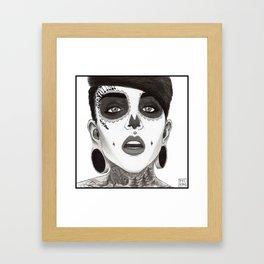 Big (ears) Framed Art Print